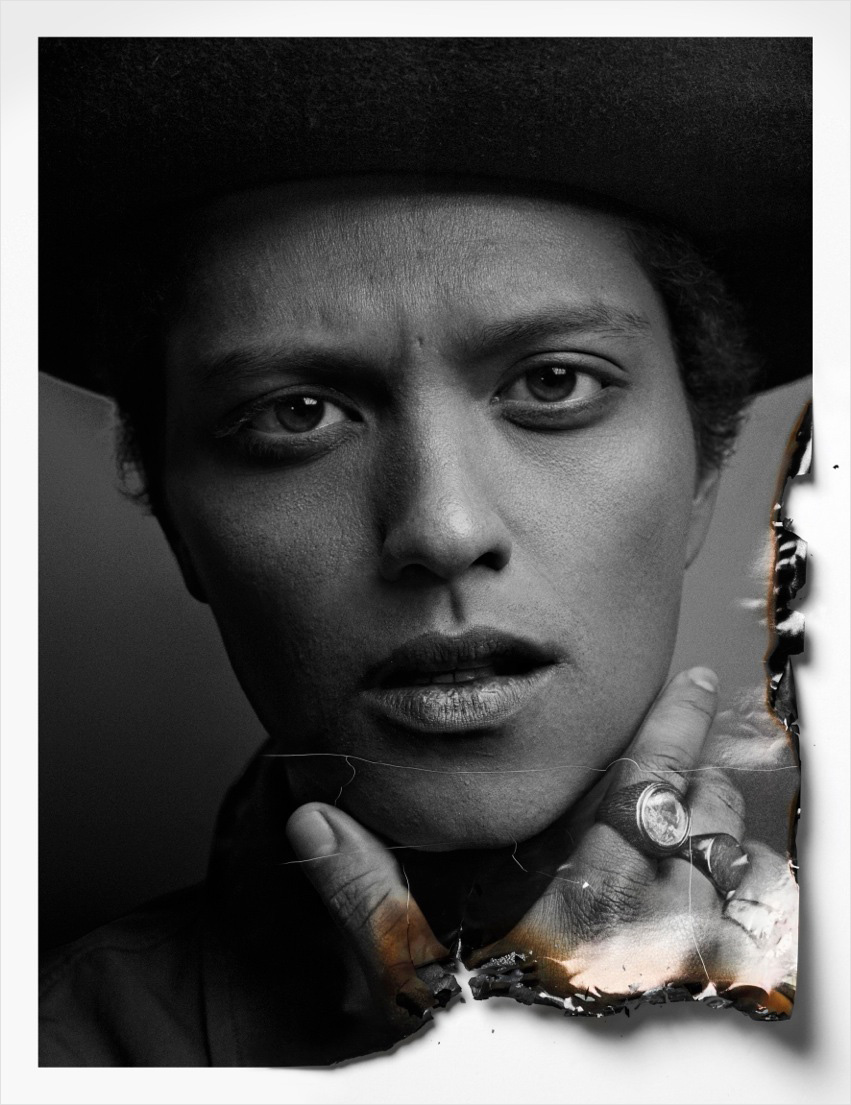 Bruno Mars by Hunter & Gatti for Flaunt January 2013