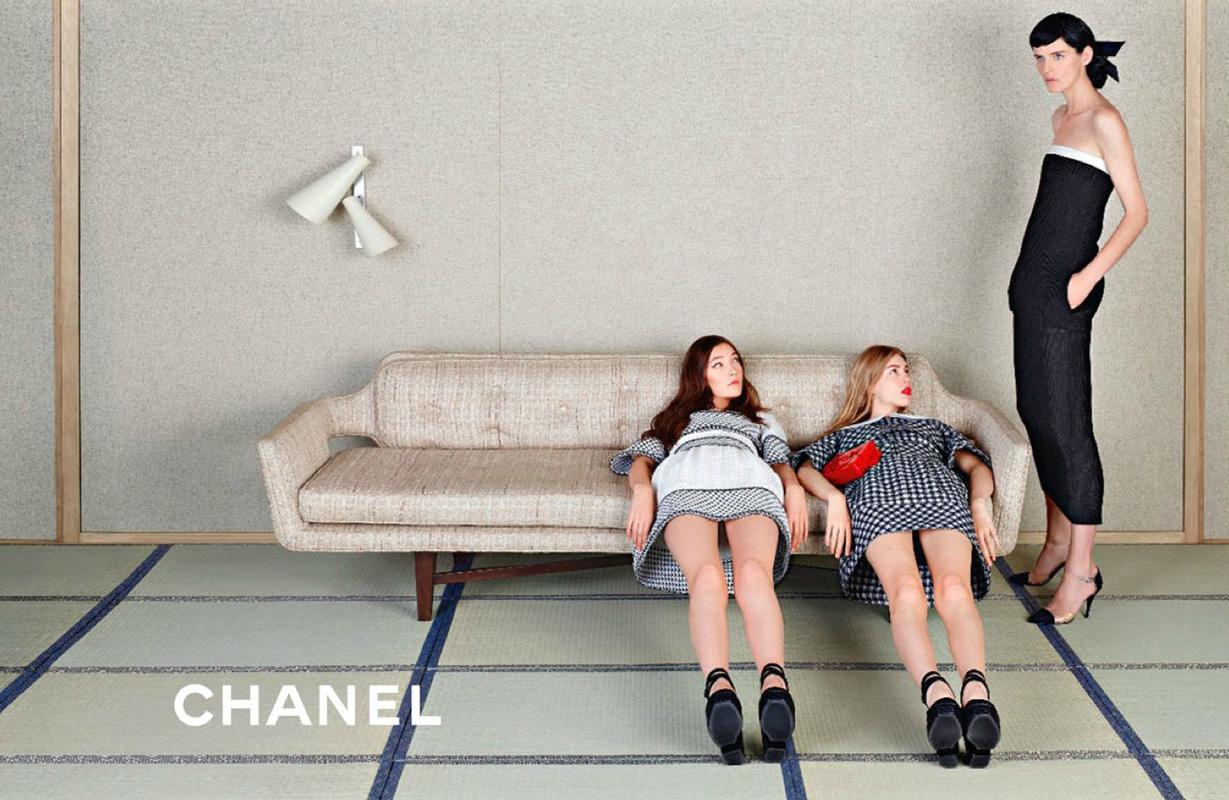 Chanel Cruise 2011 Ad Campaign Chanel Cruise 2011 Ad Campaign new photo