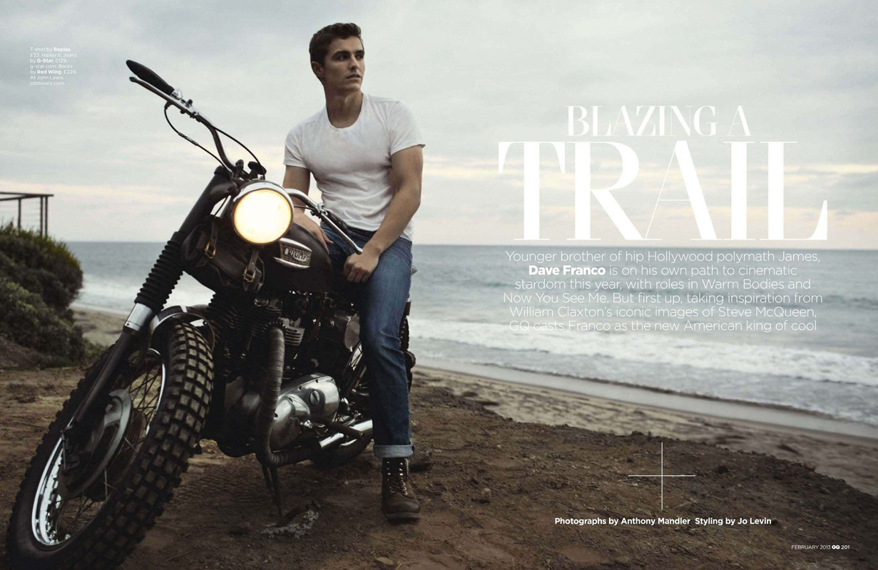 dave franco for gq uk