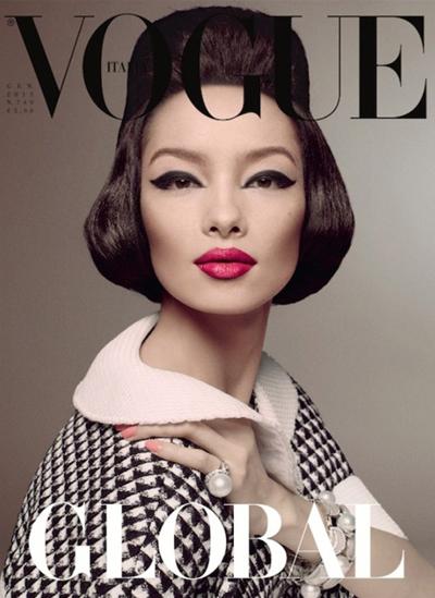 981972e0852 Fei Fei Sun for Vogue Italia January 2013