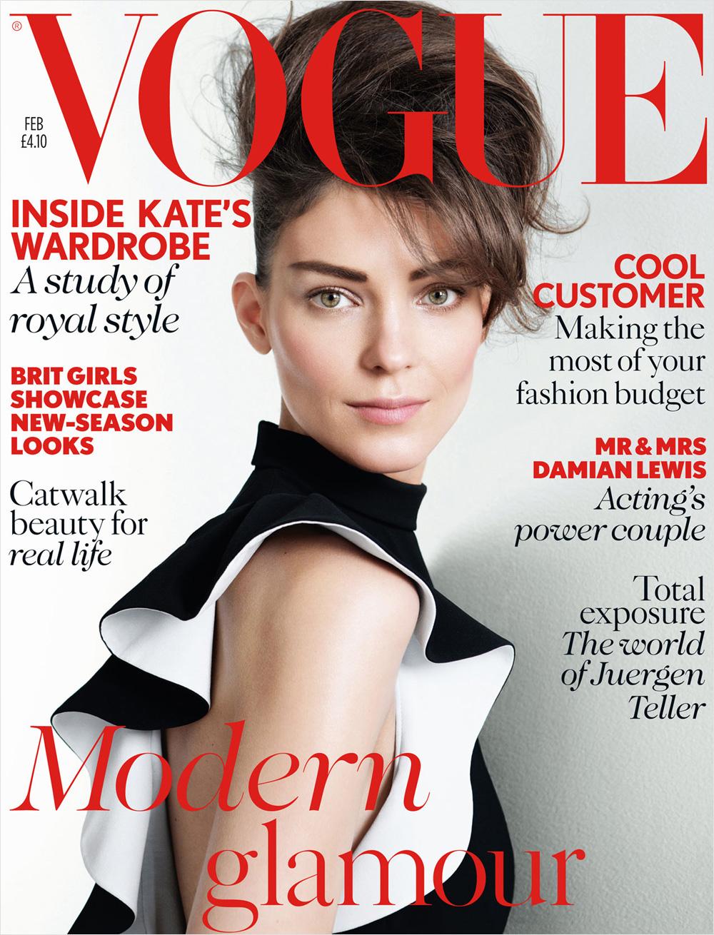 Vogue UK february Kati Nescher