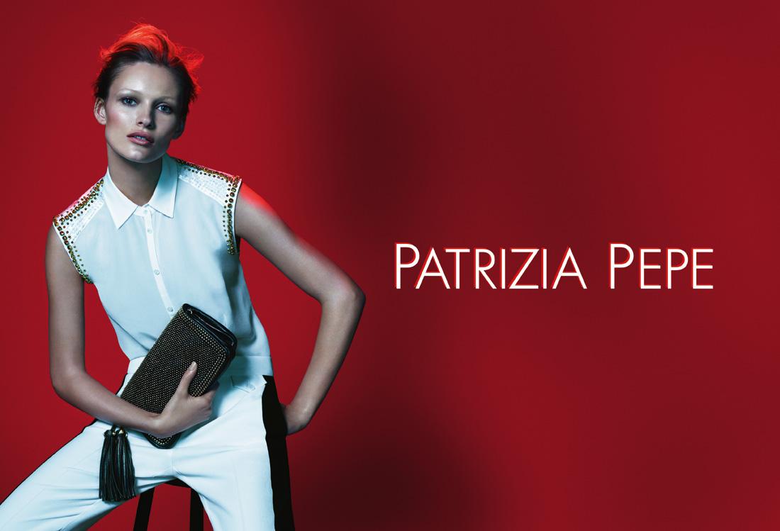 edita vilkeviciute for patrizia pepe spring summer 2013. Black Bedroom Furniture Sets. Home Design Ideas