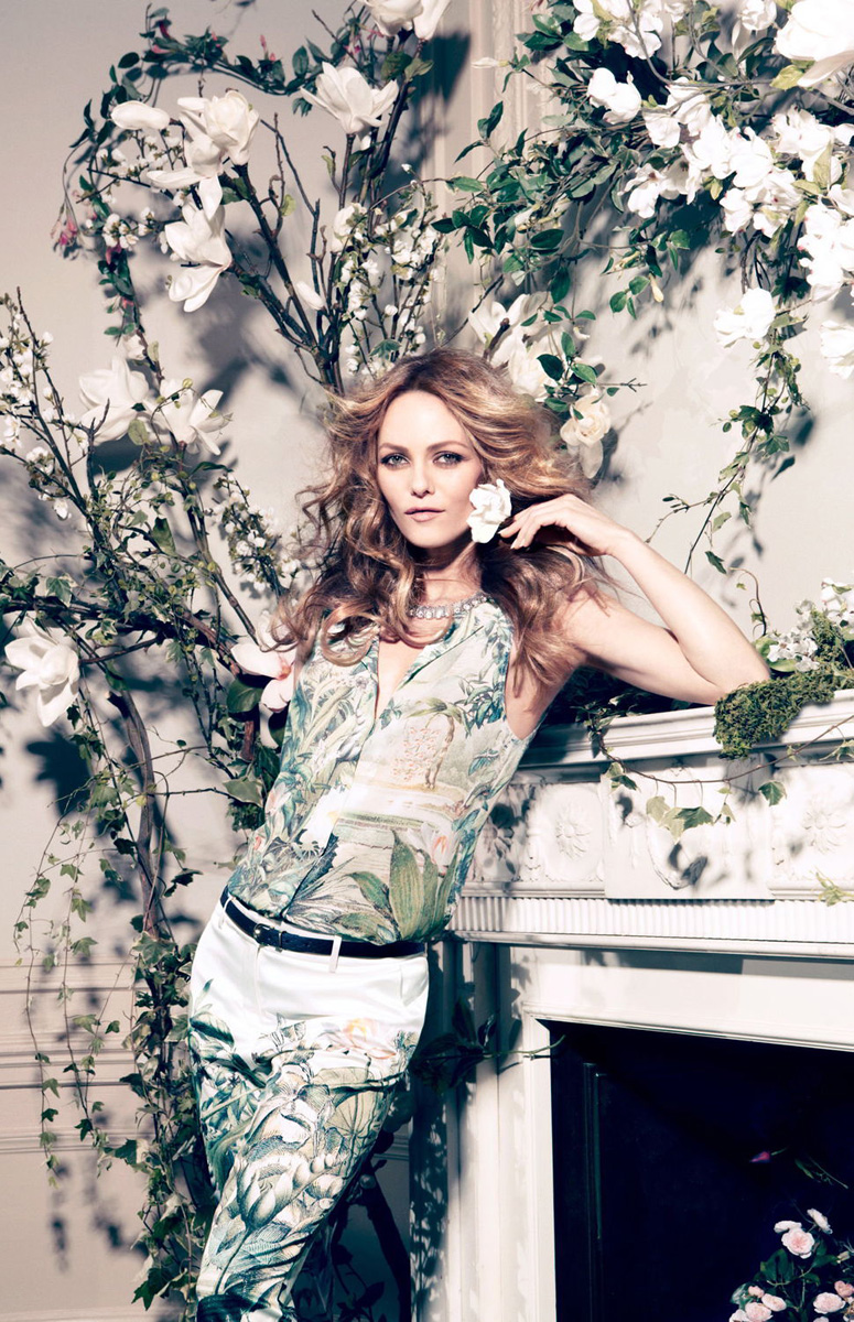 Vanessa Paradis for H&M Conscious Collection 2013