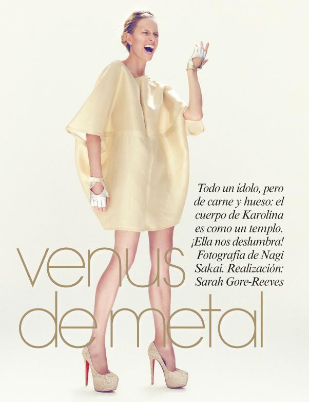 Karolina Kurkova for Vogue Latin America by Nagi Sakai