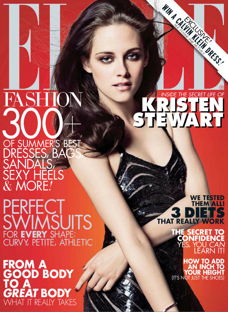 Elle Magazine France February March: Kristen Stewart For Elle June 2012