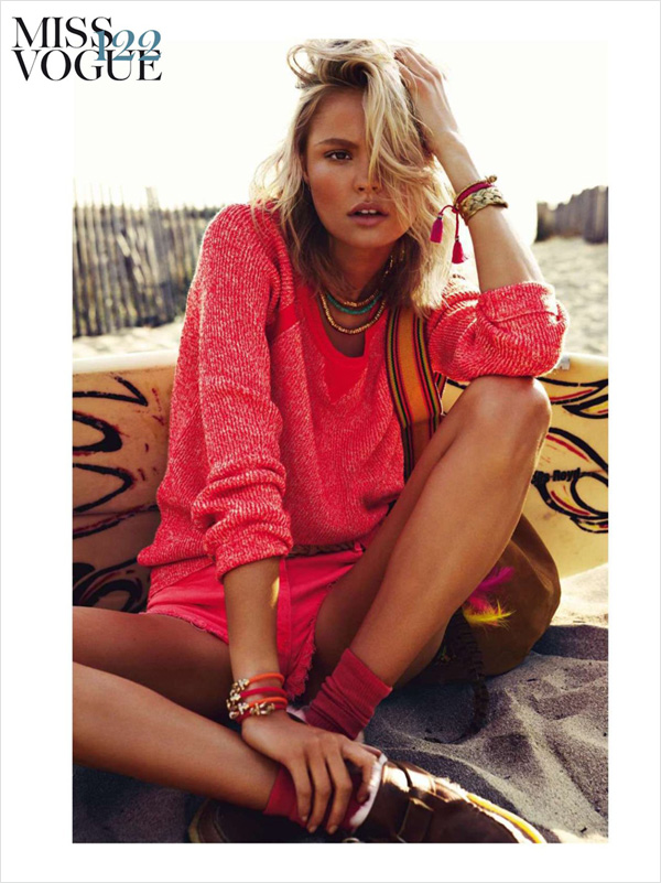 d42ec69a40 Magdalena Frackowiak by Knoepfel   Indlekofer for Vogue Paris