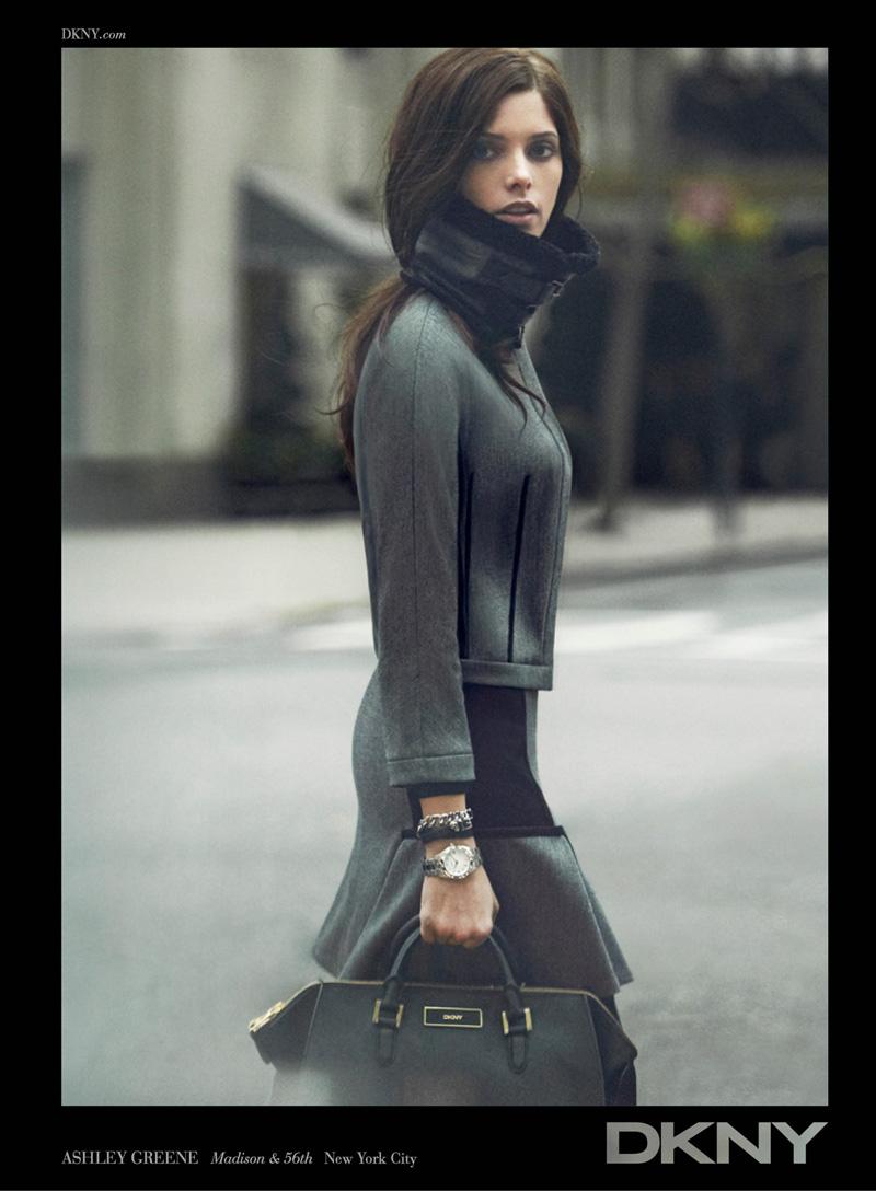 2012 Fall 2013 Winter Nail Polish Trends: Ashley Greene For DKNY Fall Winter 2012.13