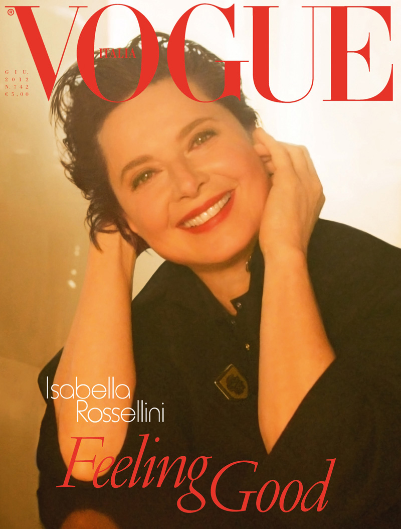 Isabella Rossellini for Vogue Italia June 2012