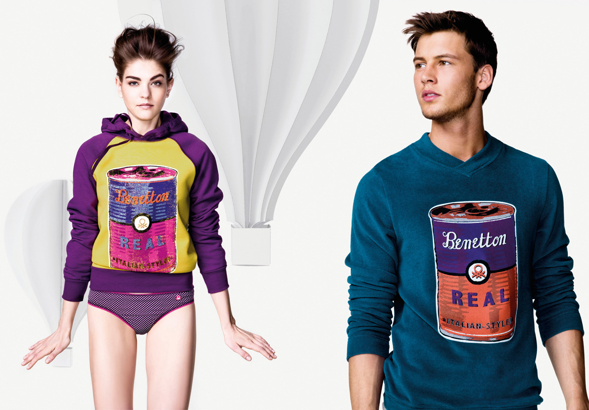 undercolors of benetton fall winter