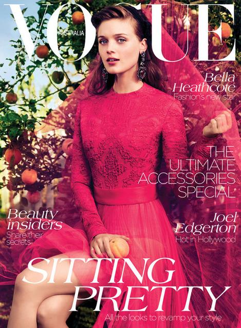 Bella Heathcote for Vogue Australia September 2012Vogue September 2012