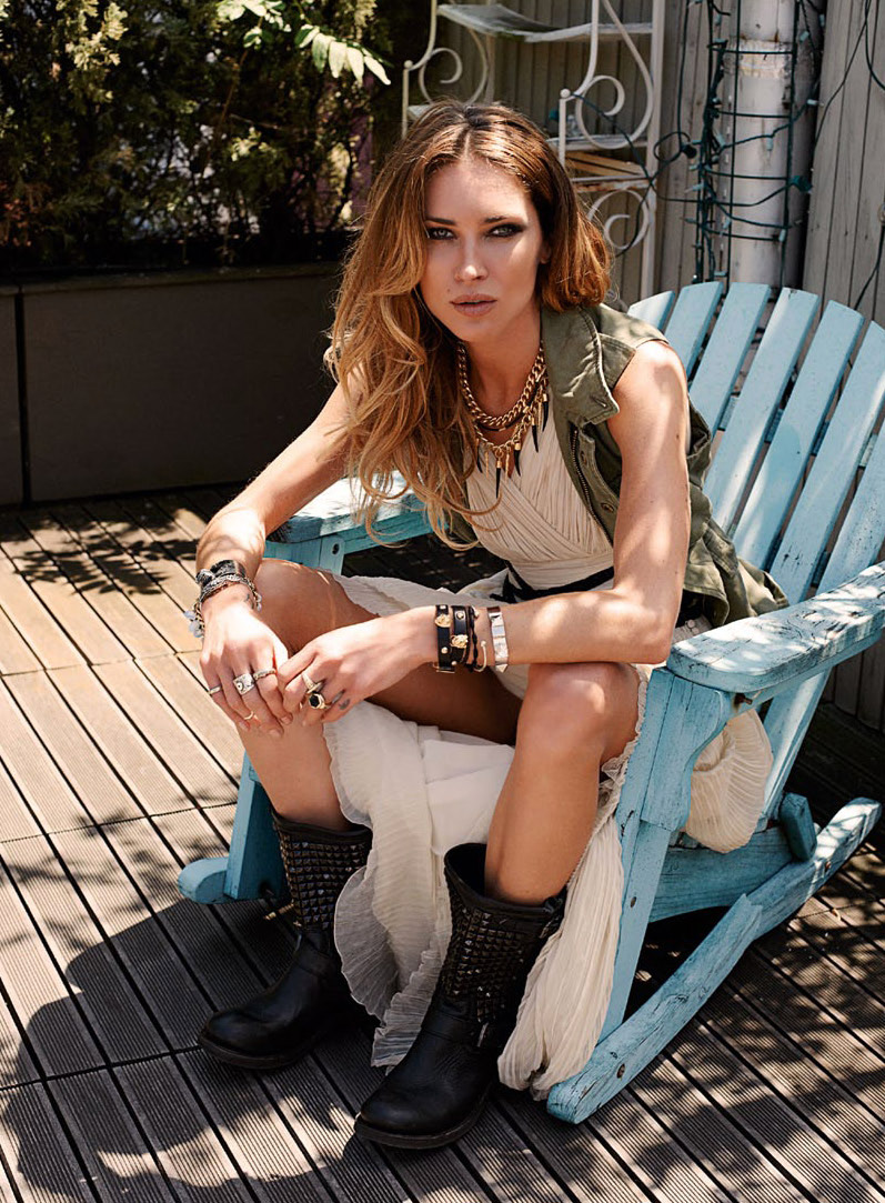 Erin Wasson by Eric Guillemain for S Moda June 2012