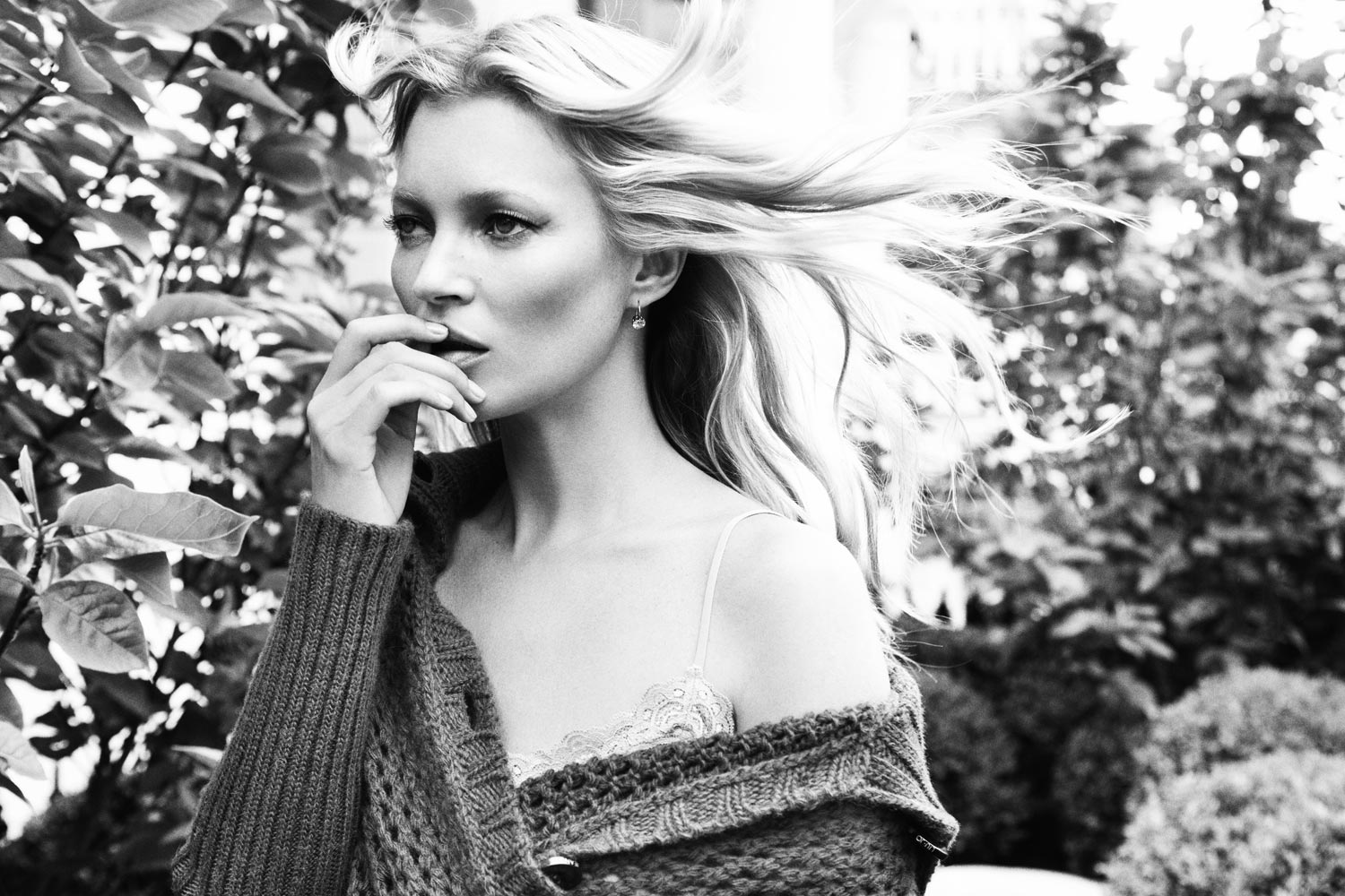 Kate Moss for Liu Jo Spring 2012 Campaign advise