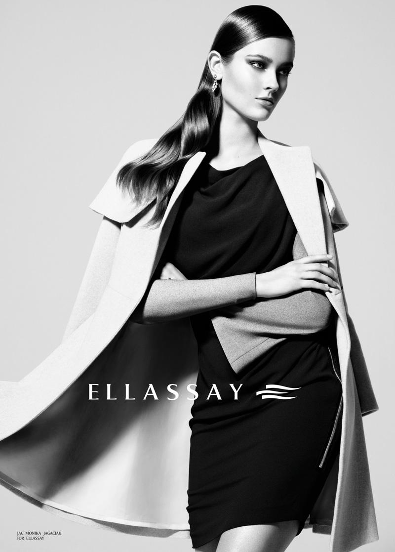94143d64de9 Monika Jac Jagaciak for Ellassay Fall Winter 2012.13