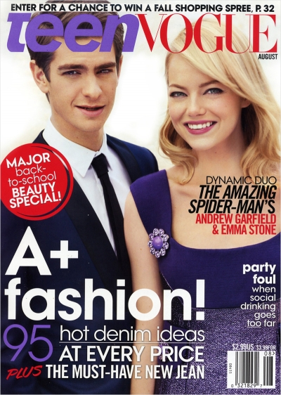 The Amazing Spider-Man stars Andrew Garfield & Emma ...