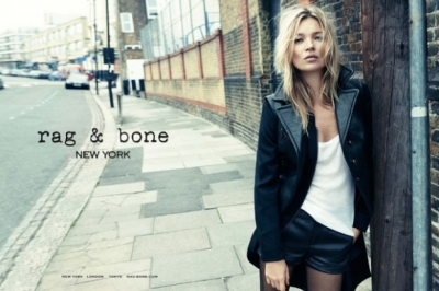 Kate Moss by Craig McDean for Rag & Bone