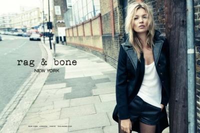Kate Moss by Craig McDean for Rag & Bone