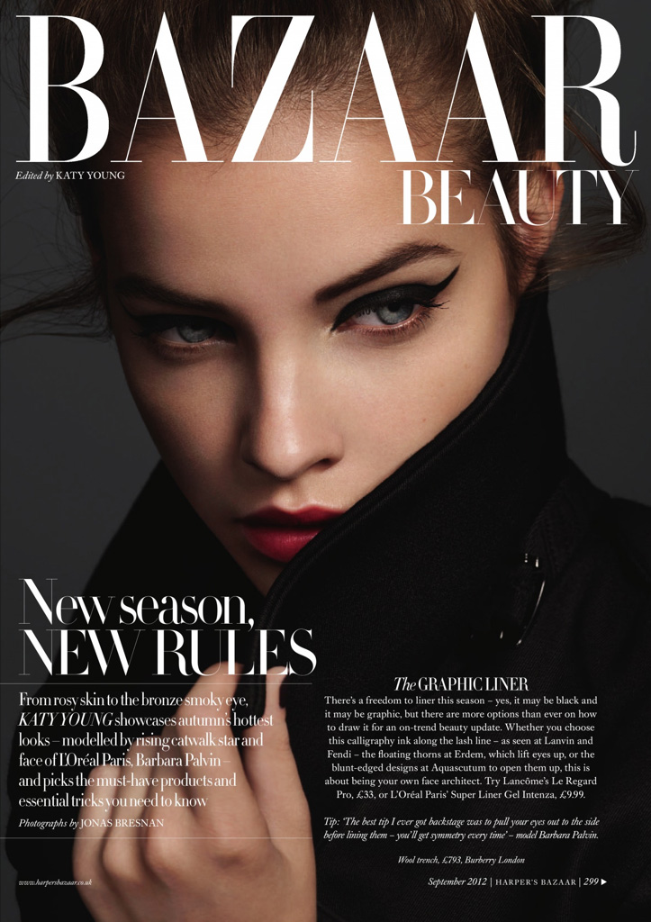 Barbara Palvin for Harper's Bazaar UK