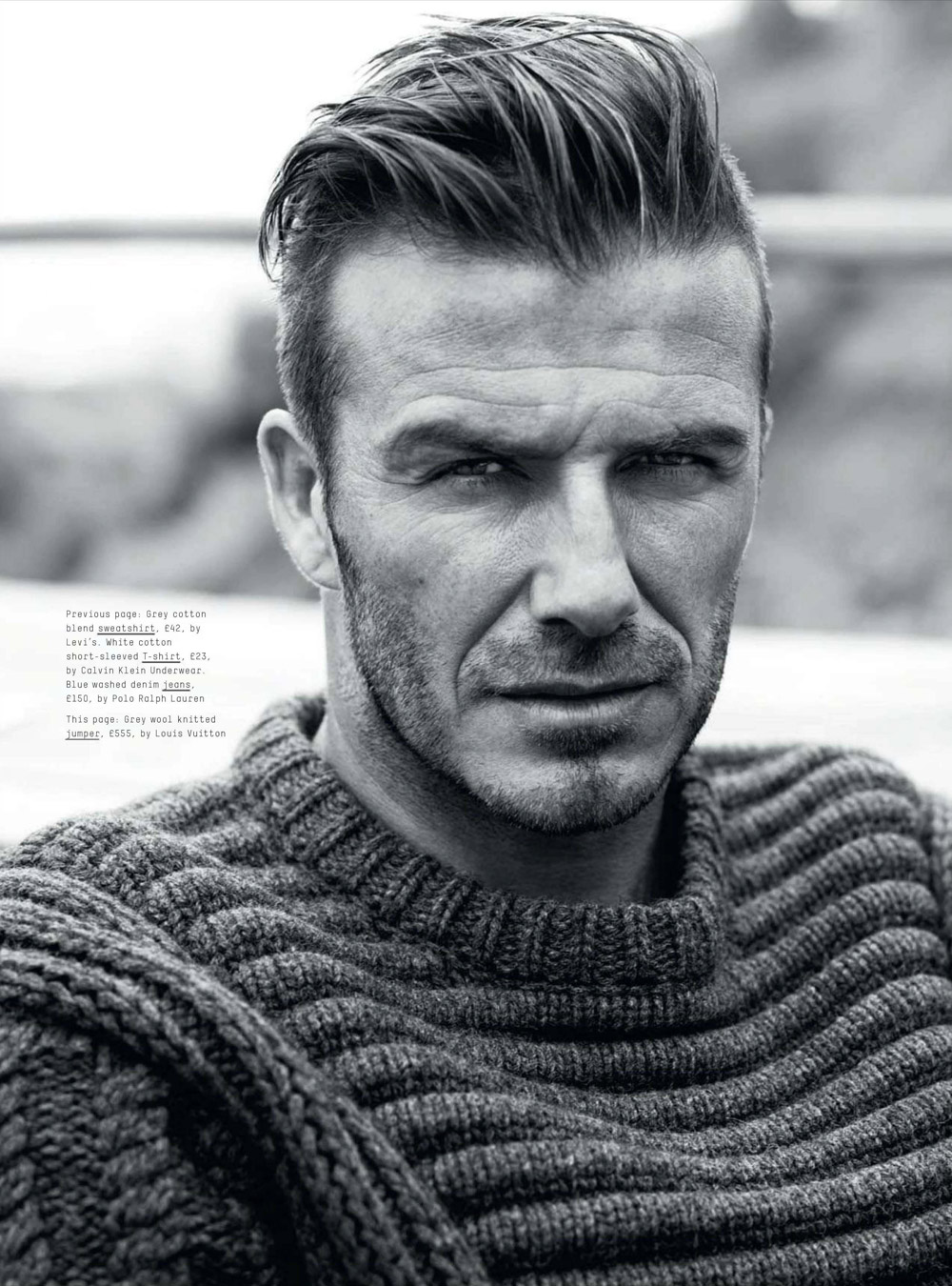 David beckham for esquire uk september 2012 - David beckham ...