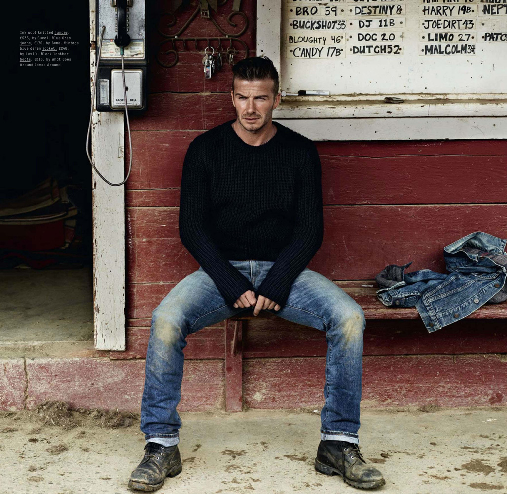 David Beckham For Esquire Uk September 2012