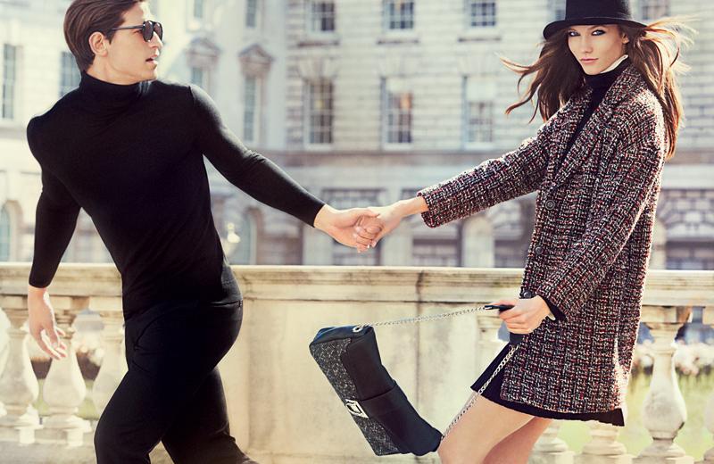 Karlie Kloss for Stefanel Fall Winter 2012.13