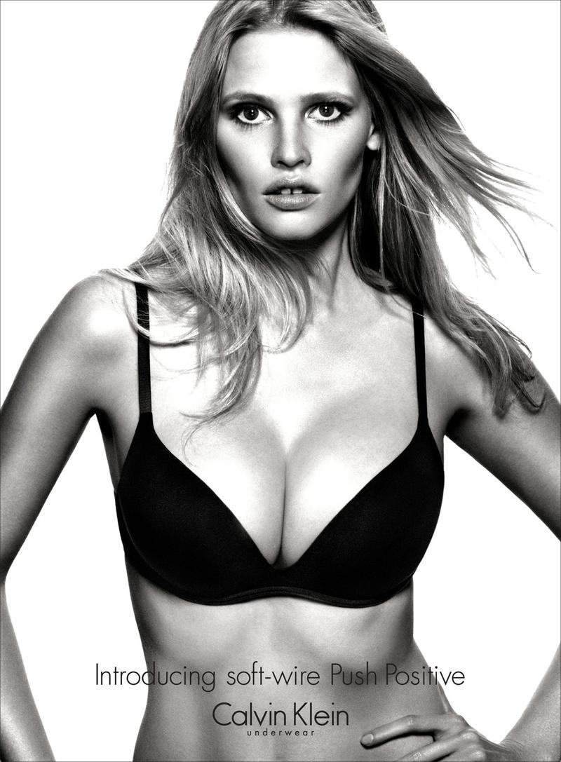 Lara Stone for Calvin Klein Fall 2012 Campaign