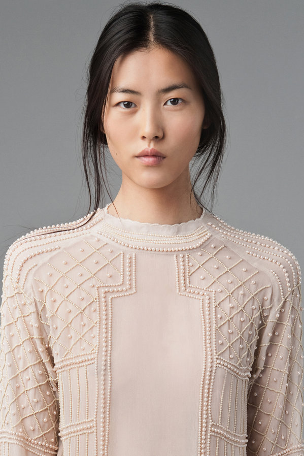 Liu Wen for Zara August 2012