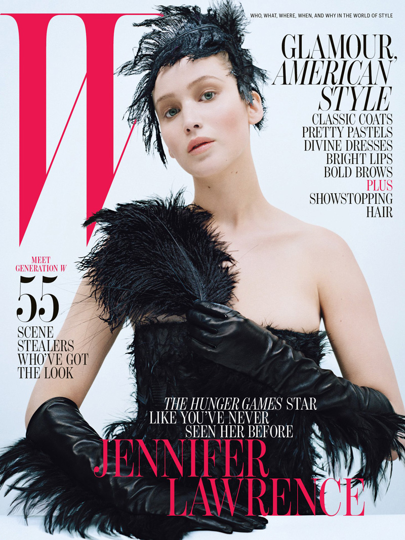 Jennifer Lawrence By Tim Walker For W Magazine