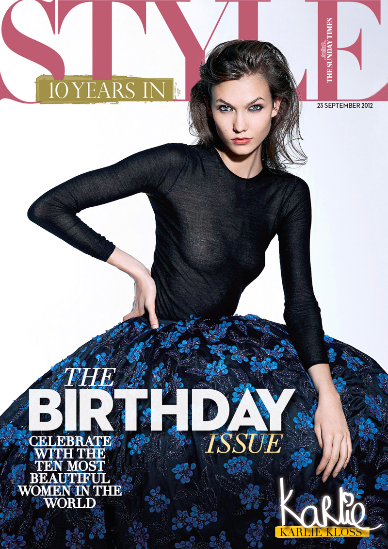 Karlie Kloss For Sunday Times Style