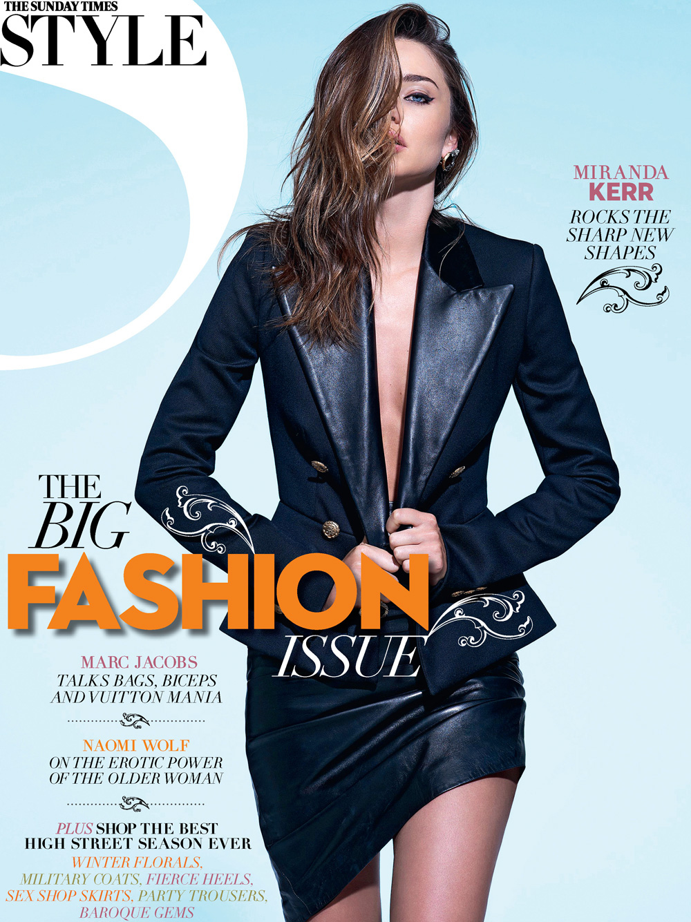 Miranda Kerr By Eric Guillemain For Sunday Times Style