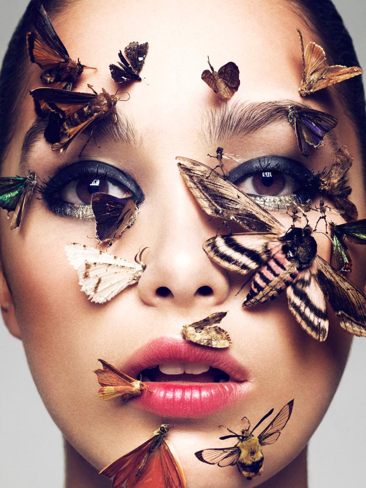 Makeup Photography: Elias Hove For Schön Magazine
