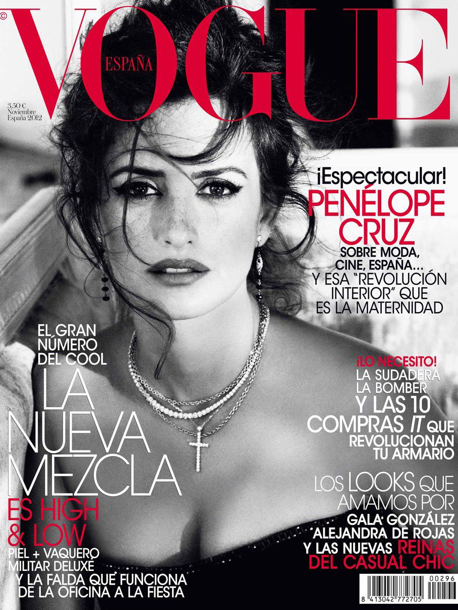 Vogue The Top Selling Fashion Magazine: Penélope Cruz By Tom Munro For Vogue Spain