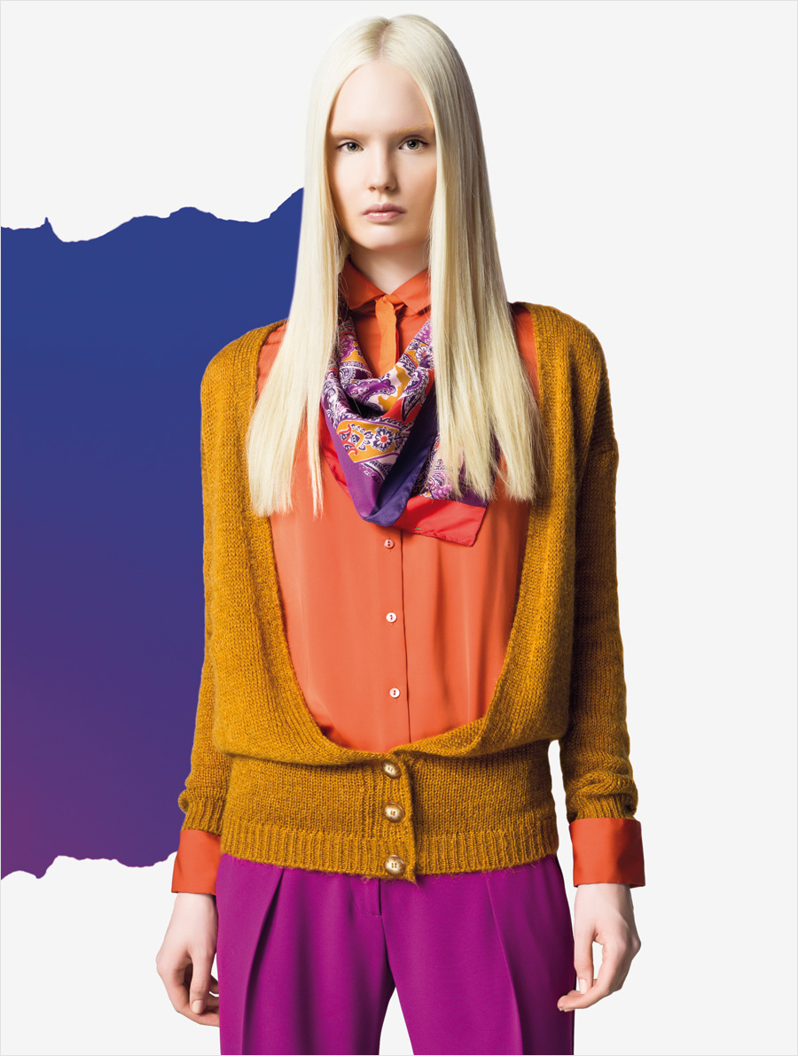 Benetton fall winter 2012 women 39 s campaign for Benetton we are colors