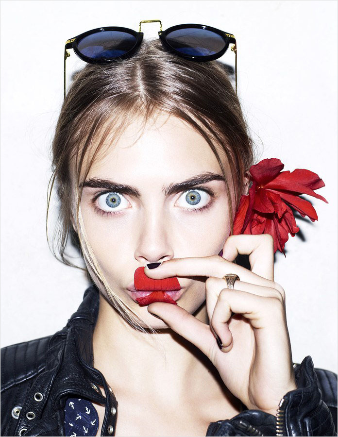 cara delevingne by matt irwin for stylecomprint