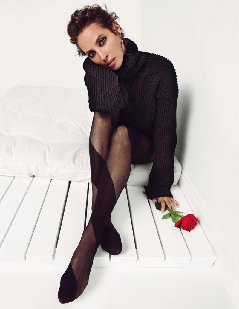 Christy Turlington By Inez And Vinoodh For Vogue Paris