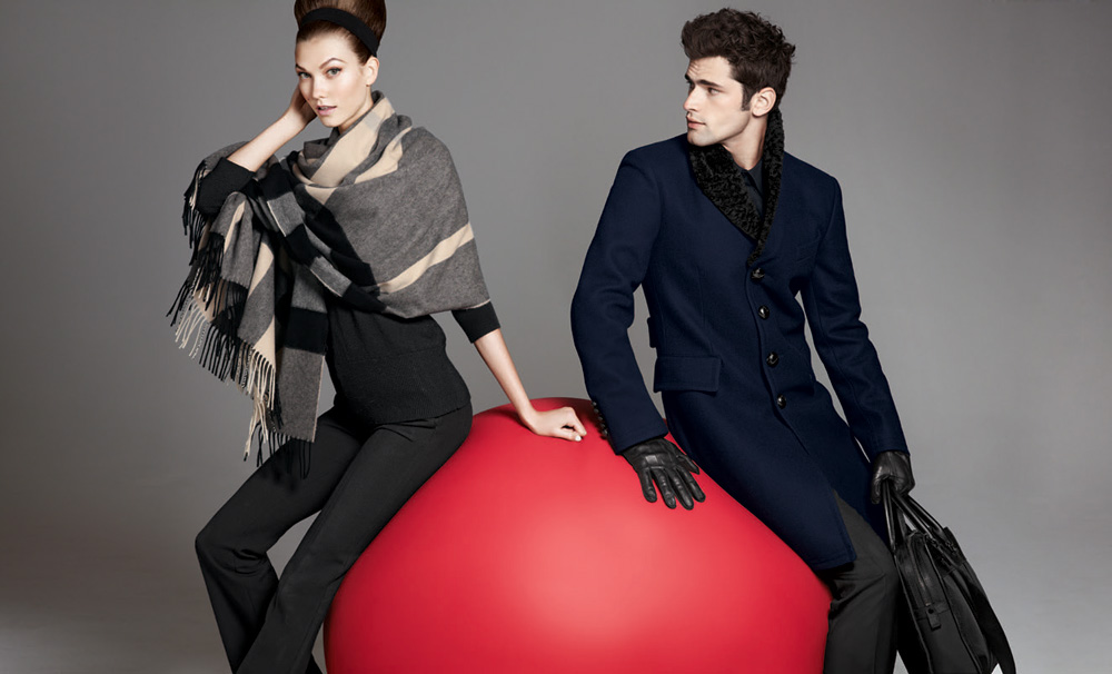 Karlie Kloss Amp Sean O Pry For Neiman Marcus