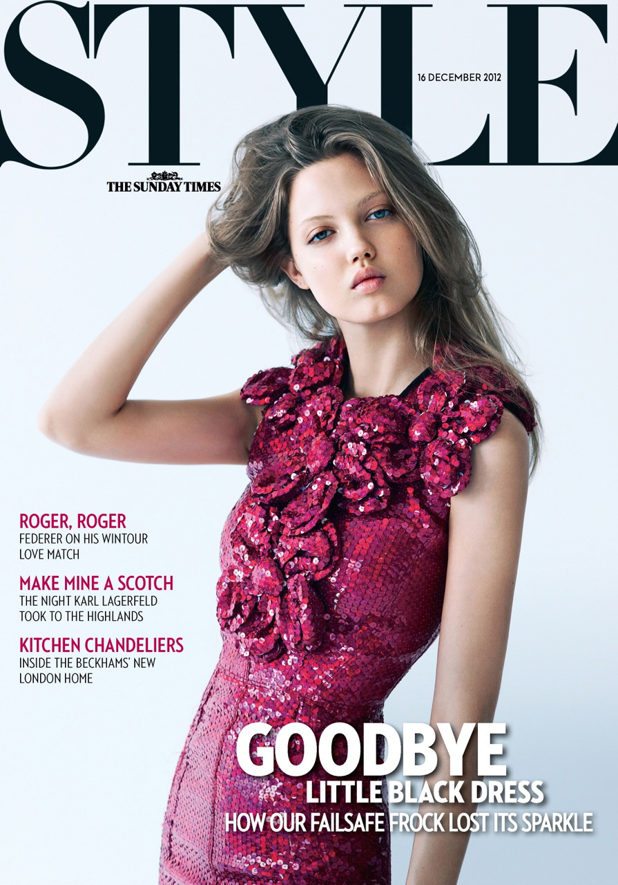 Lindsey Wixson For Sunday Times Style
