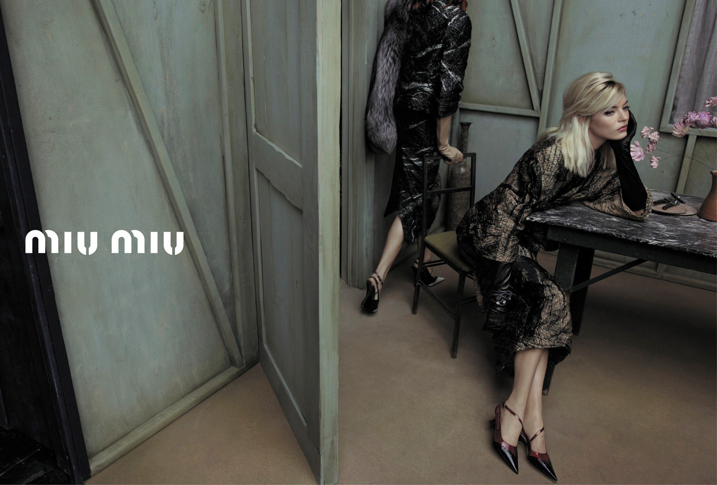 aa5652886468 Miu Miu Spring Summer 2013 Campaign by Inez   Vinoodh