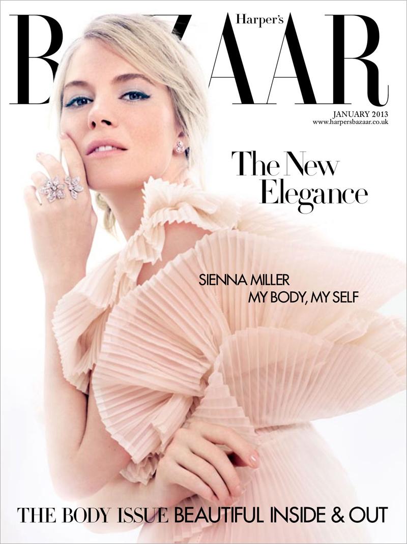 Sienna Miller by David Slijper for British Harper's Bazaar