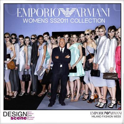 EMPORIO ARMANI WOMENS SS11