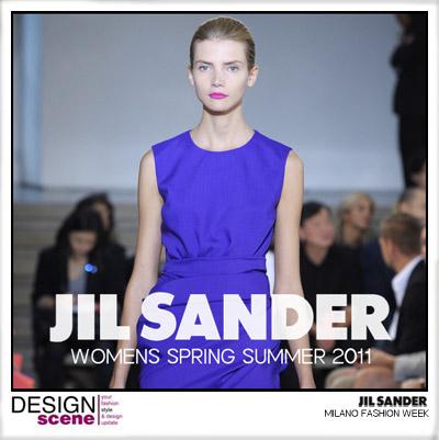 JIL SANDER WOMENS SS11