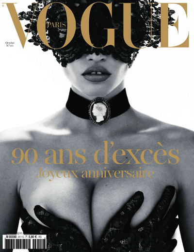 Vogue Paris Lara Stone Mert & Marcus