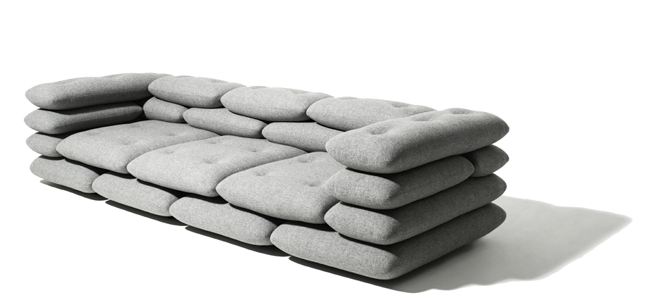 Brick Couch by KiBiSi