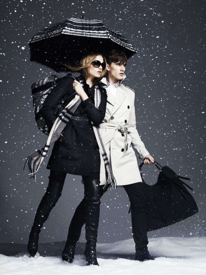 Burberry Winter Storms Collection