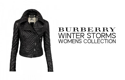 Burberry Winter Storms Collection Womenswear