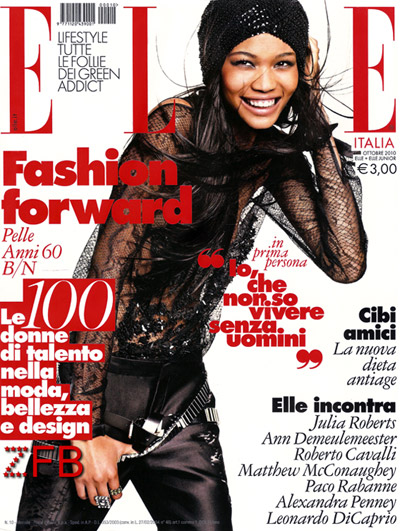 Chanel Iman Matt Jones Italian ELLE