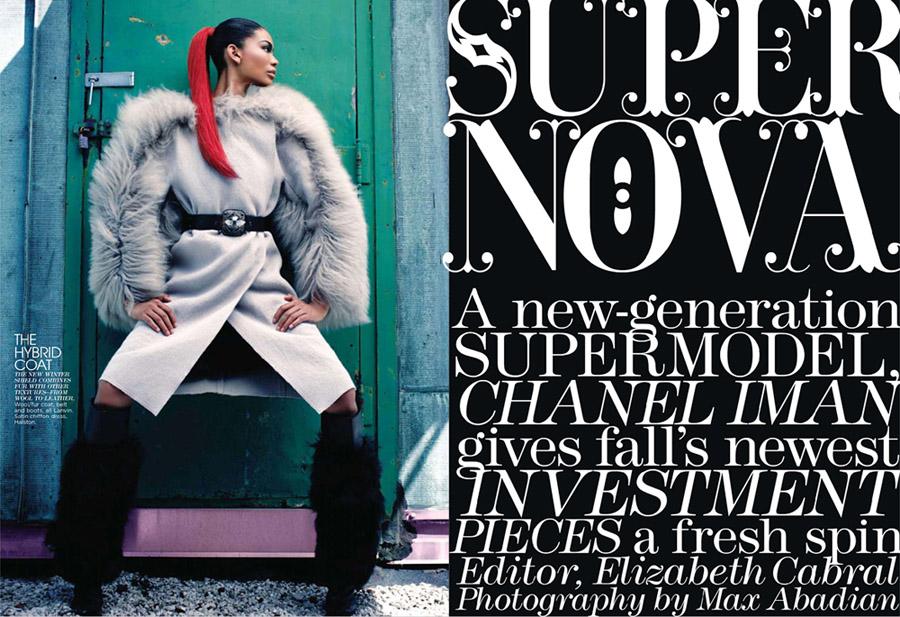 Chanel Iman Max Abadian