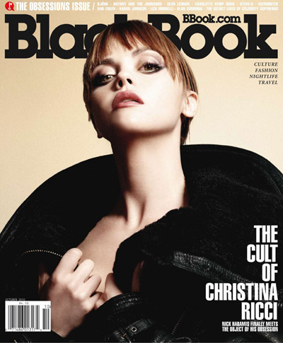 Christina Ricci for BlackBook Magazine