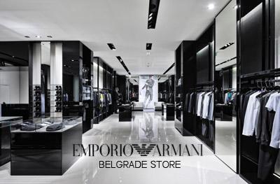 Emporio Armani Belgrade