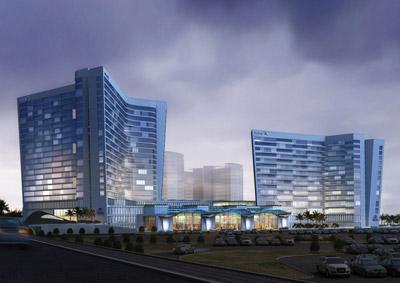 Hilton Riyadh Goettsch Partners