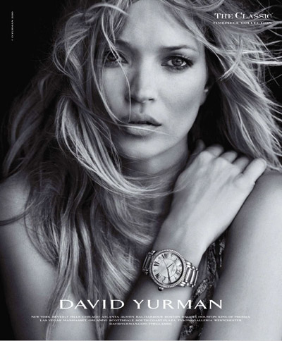 Kate Moss Peter Lindbergh David Yurman